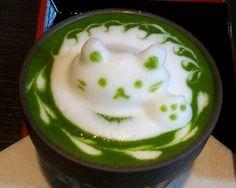 Fancy matcha latte #japaneasy #matcha #healthyfood