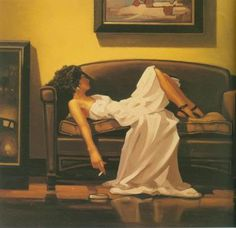 Jack Vettriano After The Thrill Is Gone painting is available for sale; this Jack Vettriano After The Thrill Is Gone art Painting is at a discount of off.