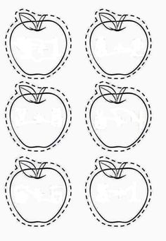 Apple tree cut and paste Fine Motor Activities For Kids, Book Activities, Preschool Activities, Preschool Centers, Fall Preschool, September Preschool Themes, Family Tree Worksheet, Fall Crafts, Crafts For Kids