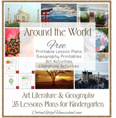 Around The World in 28 Weeks Lesson Plans. Provides the teacher with lesson plans for a different countries, with ideas for a story, art projects, geography activities, and printable flag and map. Multicultural Activities, Geography Activities, Teaching Geography, World Geography, Preschool Activities, Geography Quotes, Geography Classroom, Preschool Curriculum, Teaching Kids