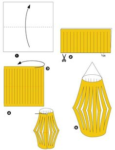Read more about Origami Paper Craft Origami Japanese Lantern, Origami Lantern, New Year's Crafts, Crafts For Kids, Japanese Theme Parties, Japanese Birthday, Japanese Kids, Japanese Dinner, Japanese Paper