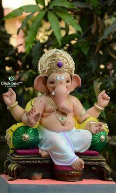 Photo Jai Ganesh, Ganesh Lord, Ganesh Idol, Shree Ganesh, Ganesha Art, Ganesha Drawing, Lord Shiva, Ganesh Chaturthi Decoration, Ganesh Chaturthi Images