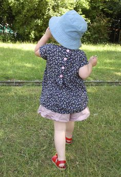 Simple tunic or dress pattern – Made by Toya Little Girl Dress Patterns, Baby Girl Patterns, Baby Girl Dress Patterns, Baby Clothes Patterns, Sewing Patterns For Kids, Little Girl Dresses, Clothing Patterns, Skirt Patterns, Coat Patterns