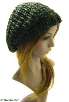 April Draven: Fallen Star Slouchy Hat Pattern