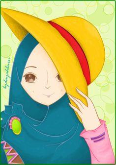 borrowing luffy senpai's hat