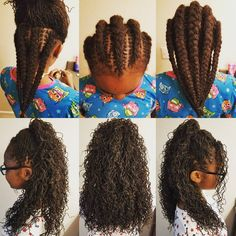 """240 Likes, 36 Comments - Tammy Brown (@imlovelocd) on Instagram: """"Our process. Fresh wash and tighten. 9 braids before bed. Take down in the morning. Easy peasy. …"""""""