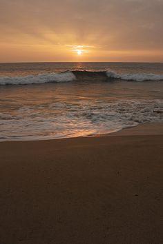 ✮ Peaceful Sunset on a beach in west Maui