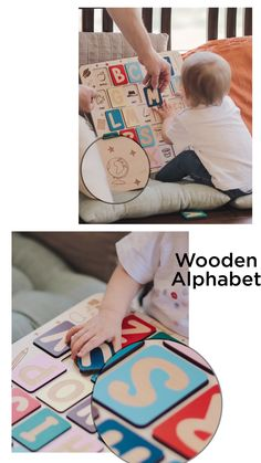 Wooden alphabet Puzzle for kids Customized Gifts, Personalized Gifts, Facebook Cover Images, Preschool Gifts, Timeline Design, Wooden Alphabet, Web Design Tips, Puzzles For Kids, Kids Videos