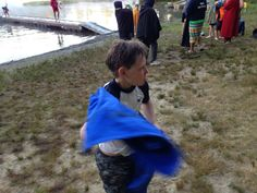 Kyle at Cub Scout Camp.