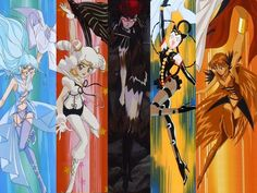 Galaxia and her sailor scouts
