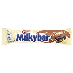 A bulk box of 36 Milky Bar Baked Cookies. Smarties Chocolate, Milka Chocolate, Nestle Chocolate, Chocolate Bars, Chocolate Packaging, No Bake Cookies, Candy, Dreams, Snacks