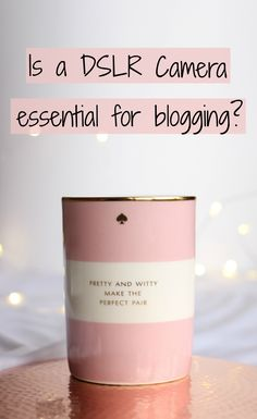 Is a DSLR camera essential for blogging? Do you really need to get an expensive camera for your blog photography? Discover more in my post!