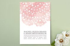 $2.34 Watercolor and Doilies Wedding Invitations by Beth... | Minted