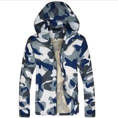 >> Click to Buy << Fashion Men Hooded Jacket Hip Hop Hoodies camouflage Jacket Summer Hooded Sunscreen Coat G040302 #Affiliate