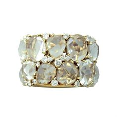New Pomellato Lulu Gold Diamond Topaz Ring Topaz Gemstone, Topaz Ring, Amethyst, Diamond Jewelry, Jewelry Rings, Jewelry Accessories, Unique Jewelry, Diamond Rings, Jewelry Box