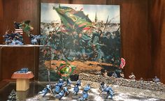 Battle of Fredericksburg December 1862 by W. Britains.  http://www.michtoy.com/spip-3-0-5/?MTSC-Christmas-Display-2016