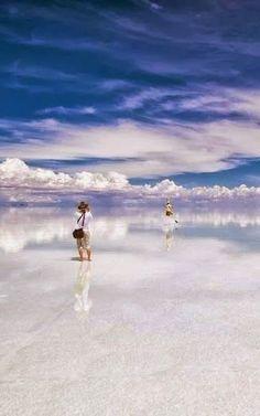 15 Unbelievable Places we resist really exist - Salar de Uyuni - World's Largest Mirrors, Bolivia