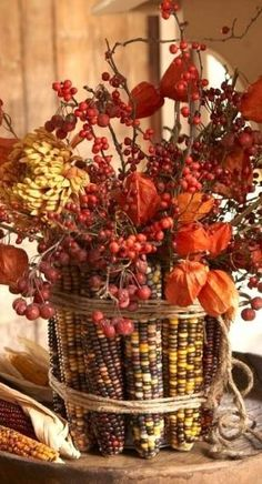 fall centerpiece.... by dee29