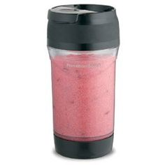 A travel-size blender for under $10.  Yummm smoothies