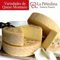 Variedades de queso Montasio