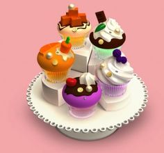 Alice and Peter Cupcake Perfumes
