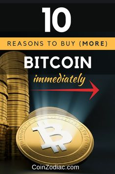 Top 10 Reasons to Buy (More) Bitcoin Immediately - CoinZodiaC Earn Money From Home, Make Money Online, How To Make Money, Bitcoin Wallet, Buy Bitcoin, Cryptocurrency Trading, Bitcoin Cryptocurrency, Sentiment Analysis, Free Bitcoin Mining