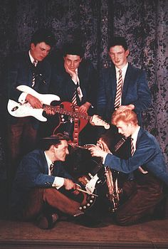 David Bowie and The Kon-Rads 60s.