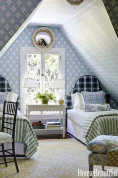 1850s New Jersey Home - Michael Maher Decorates a Calvert Vaux House