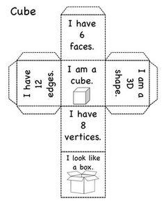 3D SHAPES - BUILD THE SHAPE, READ THE SHAPE! - TeachersPayTeachers.com  $2.50
