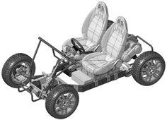 OSV : la #voiture à faire soi-même sur le modèle #Ikea                                                                                                                                                                                 Plus