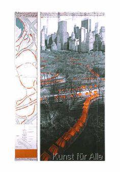 Christo und Jeanne-Claude - The Gates XXIX