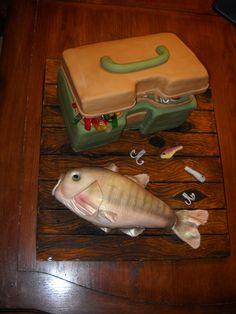 Tackle box and fish — Fishing / Hunting