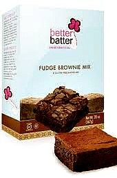 Better Batter Gluten Free Fudge Brownie Mix ... ... Oh Such Chewy, Fudgy, Chocolate-y Goodness in Every Bite! You've got to try this mix! It's even dairy-free and perfect for vegans/vegetarians, OU Kosher, and Feingold I & II diet guidelines.