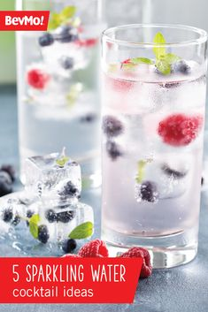 Give your guests a refreshing alternative to classic cocktail recipes by adding a splash of sparkling water! Check out these 5 Sparkling Water Cocktail Ideas from BevMo!  to get seasonal inspiration for your next celebration.