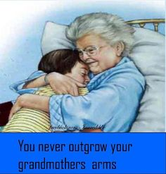 Grandma's arm's