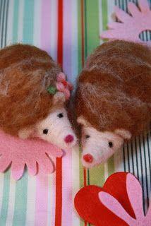 Heidi Boyd: Hedgehogs: Needle Felting Tutorial