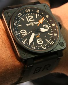 Bell and Ross BR01-93 GMT AND BR01-92 Gold Ingot Watches: So opposite, So The Same