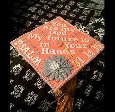 Bible verse graduation cap