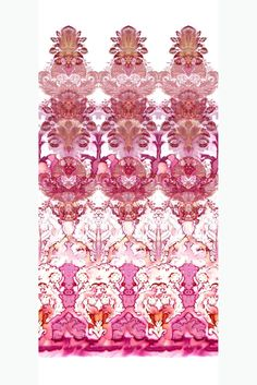 Timorous Beasties Wallcoverings - Watercolour Damask That english brand was one of the first to print crazy patterns. I wrote about them in my MA! Gold Vinyl Wallpaper, Wallpaper Panels, Pattern Wallpaper, Wallpaper Ideas, Wallpaper Downloads, Textile Patterns, Print Patterns, Textiles, Timorous Beasties