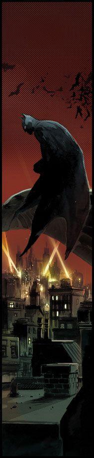 Gotham Colored by ~Cinar