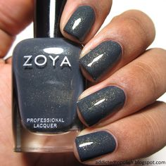 Zoya Yuna: just got this and cannot get enough of it #blackwomen #manicure