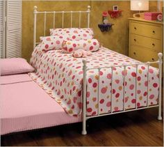 These were great for sleep overs! Trundle bed yo!