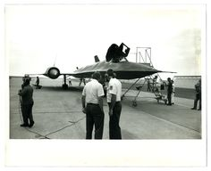 "Lockheed SR71 // Description on back: SR71 records July 27/28 1976, 20142, cc3431-2a // Original size 10"" x 6.5""  // scanned @1200DPI with Epson prefection 2400 photo, unretouched."