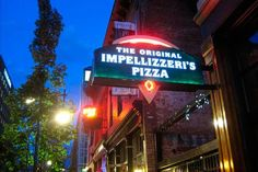 The Original Impellizzeri's Pizza: In 1968 Benny Impellizzeri began his pizza career at a Louisville pizza restaurant called Mario's in Hikes Point. In 1971 he went to another Louisville tradition called Fun City Pizza. Fun City was the first to offer fresh breadstixs and Sicilian style pizzas. In 1978 Benny's father, who was a butcher, leased the old Mr A's pizza site on Bardstown Road and moved his downtown butcher shop to the Highlands.