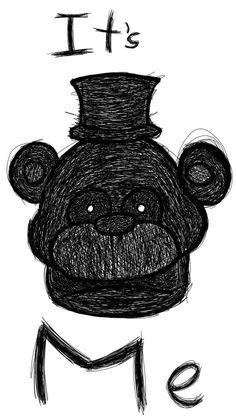 Fnaf 1, Fnaf Drawings, Bandy, Five Nights At Freddy's, Creepypasta, Universe, Internet, Memes, Art