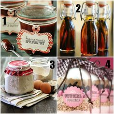 "16 hand made ""gifts in a jar"" - Click image to find more DIY & Crafts Pinterest pins"