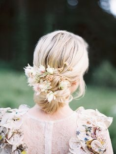 Natural-Inspired Floral Design DIY with Silk Flowers - Once Wed