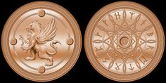 Fantasy Coin, LLC creates high quality coins based on fictional places.  We create exclusive designs for use as board game accessories, for RP, LARP, or just for fun!  We also seek to gain licensing agreements with film and game publishers to bring their fictional currencies to life.