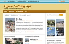 We've just released the latest version of www.CyprusHolidayTips.com - Check it!