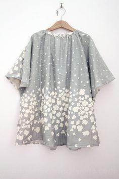 nani IRO pocho smock – completed | Japanese Sewing, Pattern, Craft Books and Fabrics